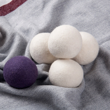 Hot sale 6 pack 7cm 100% New Zealand wool dryer balls from Top 3 manufacturer
