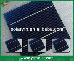 5 years warranty high efficiency mono solar cell/high current solar cells for solar panels, solar panel materials
