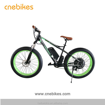 HIGH QUALITY 26*4.0INCH 48V 750W FAT TYRE E BIKE MOUNTAIN E BIKE