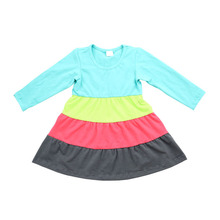 2017 colorful kids dress korean kids fashion wholesale south indian hot girls picture
