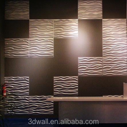 Fiber v g tale gros int rieur panneau mural 3d pour la d coration int rieure - Panneau mural decoratif interieur ...