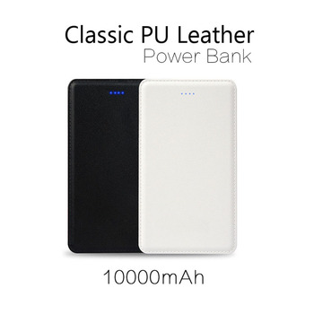 10000mah power banks portable charger power bank built in cable slim power bank