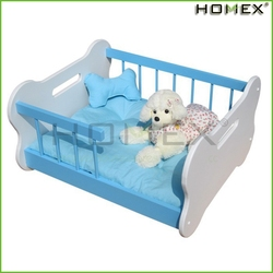 Reuse wooden dog kennel/luxury dog bed/pet bed crib/HOMEX