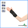"Good Quality C1WR-1102/ 1202(Right/ Left) 10"" Adjustable Black Wrist and Palm Brace, Wrist Support , Medical Wrist Wraps"