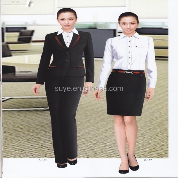 custom New arrival Personality women office suit pictures of formal wear for women