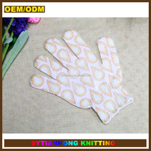 OEM/ODM shower wash cleaning scrub gloves