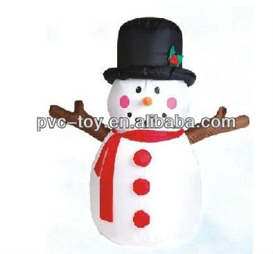pvc inflatable christmas products for sale