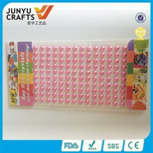 wholesale colorful pearl rhinestone diy cell phone sticker