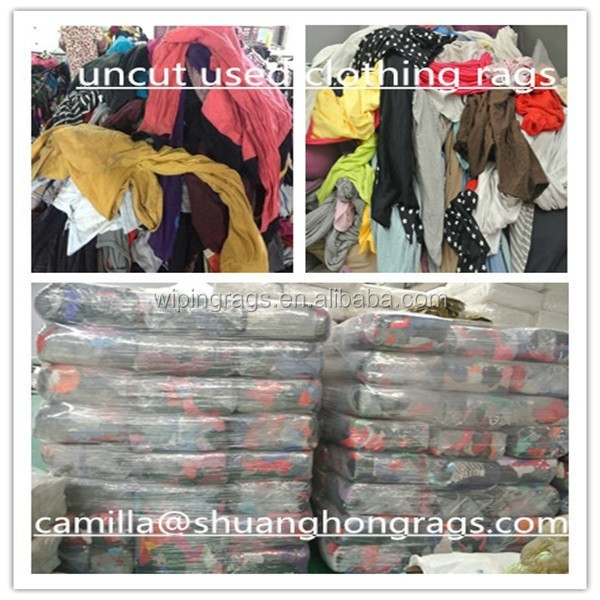 used clothing cotton rags buyers