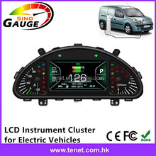 LCD Instrument Cluster for Electric Trucks/Vehicle