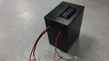 Rechargeable 48V 30Ah lithium ion battery pack for electric scooter