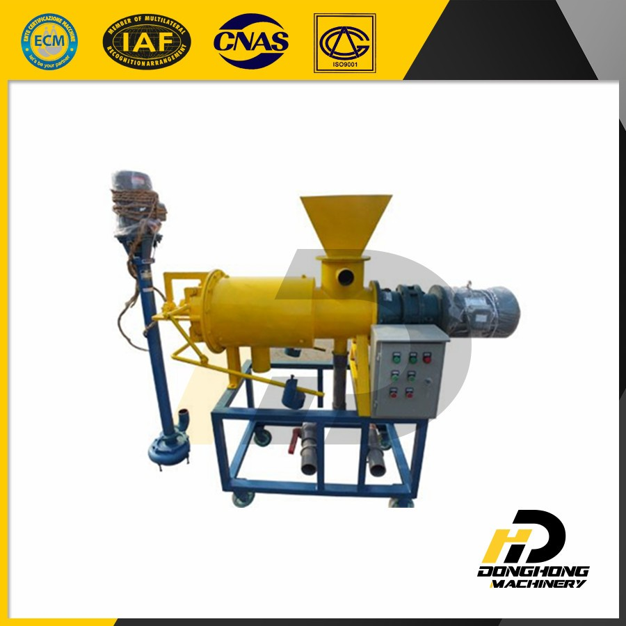 Liquid solid separator for cow manure / pig and poultry dung