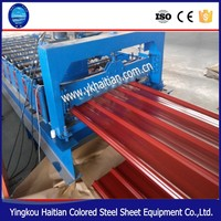 Zinc Galvanized Metal Roofing Tiles Corrugating Making Machine