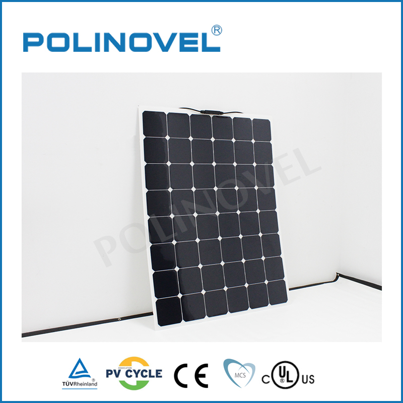 160 watt high efficiency flexible solar panel