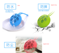 IPX4 Silicone support picture taken mini waterpoof outdoor sports bluetooth speaker