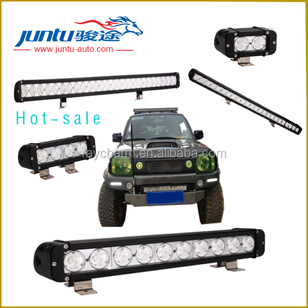 "50"" 300W 2.1A@12V 10W/Diode Single stack IP67 waterproof car led light bar for trucks"