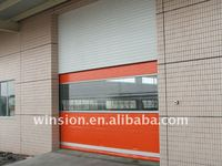 Industrial roll up door automatic control