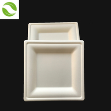 Wholesale square white dinner plates