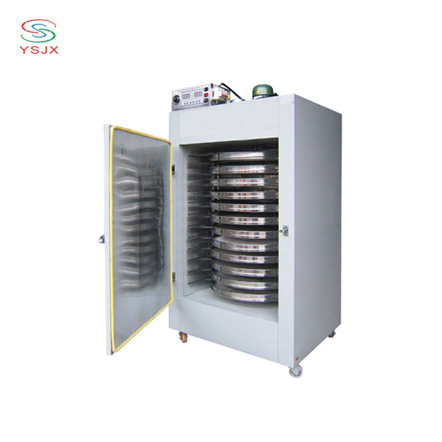 automatic 14 layers stainless steel trays rotary mushroom dryer machine