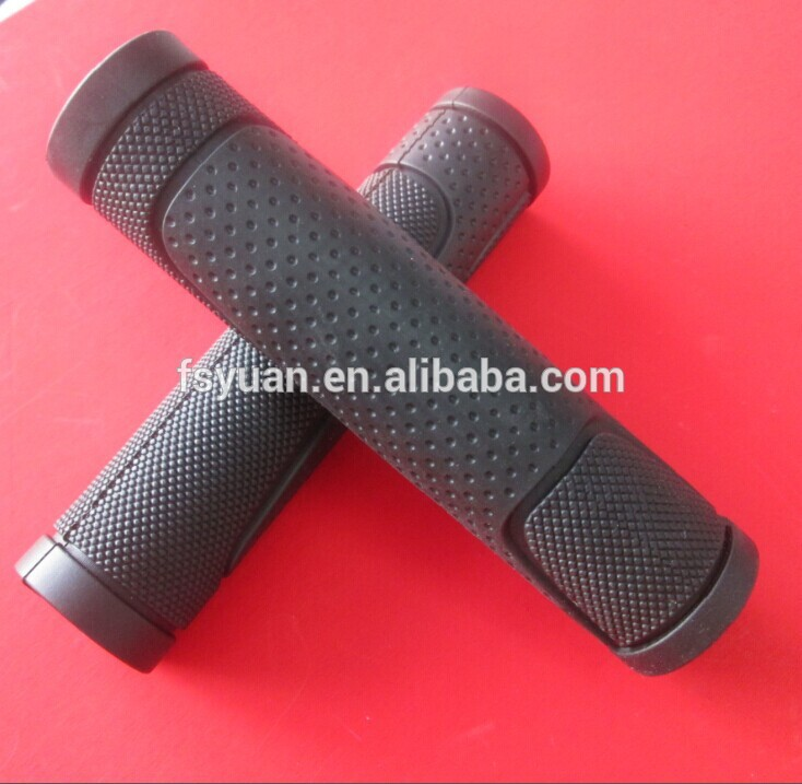 Textured Rubber Grips On Handles / Handle Bar Grip For Tablet / Plastic Wheelbarrow Handle Grips