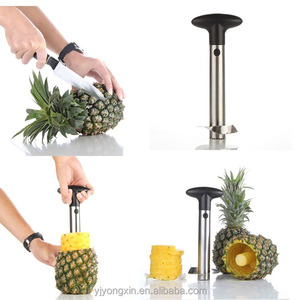All in one Kitchen Gadgets Stainless Steel Remover Pineapple Corer