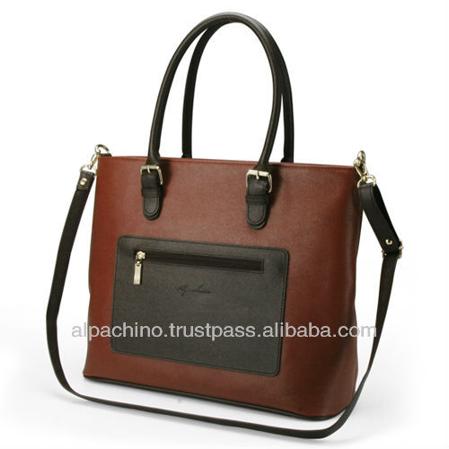New Trendy Korea Style Sapiano PVC Women Tote Bag Cross Bag A9W450
