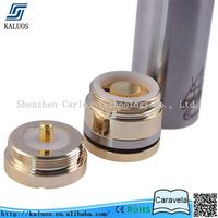 China best electronic cigarette vaporizer mechanical mod copper caravela clone