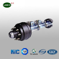 China trailer manufacturers brand KIC axle trailer parts