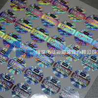 3d hologram sticker for mobile phone charger