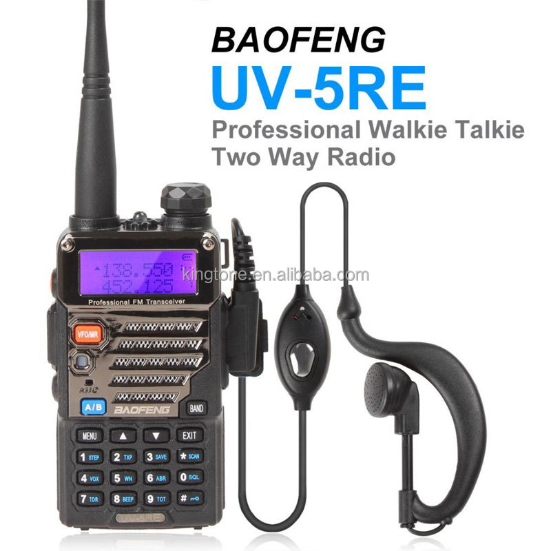 Cheap Portable Radio UV5RE Dual Band 136-174MHz&400-520MHz Baofeng UV-5RE Transceiver Security Two Way Radio
