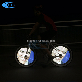 Bike Accessory Mini Silicon Bicycle Light Cycling Wheel Spoke Light