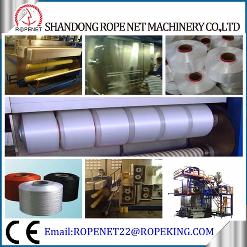 PP FDY auto winder intermingling pp yarn spinning machine/ fdy spinning making line