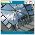 Easy Assemble Good Sealing curved glass roof