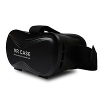 360 Degree viewing immersive Vizor 3D Virtual Reality Headset for 3D Movies and Games Portable 3D VR Glasses for 4 to 5.7 inch