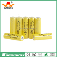 1.2V 700Mah Nicd aa battery toy car battery rechargeable nicd battery for toy mp3 mp4 camera
