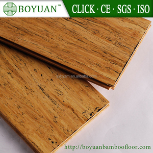2017 new product compressed strand woven waterproof bamboo flooring