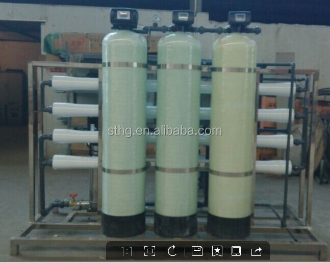 2T drinking water treatment machine with price/mini water treatment plant manufacturers/salt water treatment system