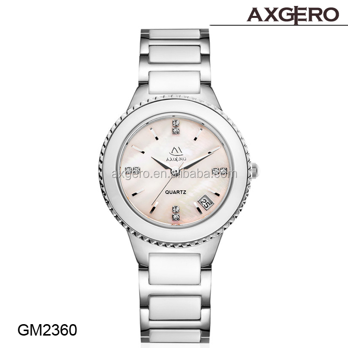 New product custom ladies vintage watch ceramic alloy watch