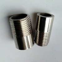 China Factory Supply Carbon Steel GOST Standard Steel Pipe Nipple NPT