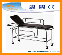 B6-1 hospital used medical PATIENT stainless steel stretcher trolley