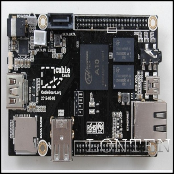 Raspberry Pi Enhanced Version cubieboard 1GB ARM Cortex-A8 Allwinner <strong>A10</strong>