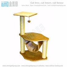 GMT8196 Factory direct salling ebay amzom kitten tree quality cat trees banana leaf