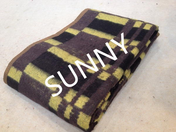 Latest Fashion useful plaid check wool throw wool blanket