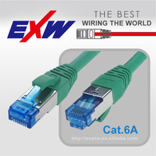 DELTA ETL CERTIFICATE HIGHT QUALITY Cat 6A SSTP PIMF Patch Cord