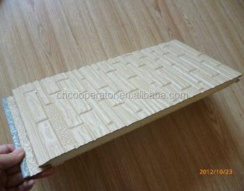 Pu Insulation Board Sandwich Wall Panel Pu Foam Exterior Wall Siding Buy Insulation Board