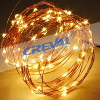 12 meters wedding decoration copper wire led fairy twinkling decorative lights