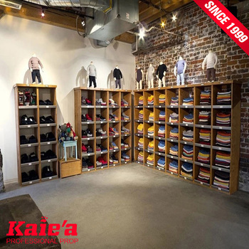 2018 retail store display furniture for clothing store
