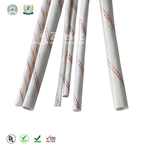 China reputed pvc wire insulating glassfiber sleeve polyvinyl sleeve