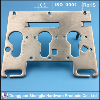 Admirable stainless press-work bracket for 3D printer