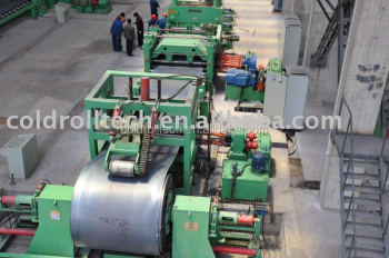 Good Quality High Speed High Precision Cut to Length Machine Line for coil center use